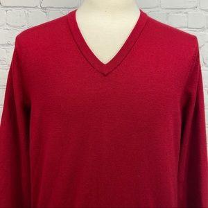 Brooks Brothers extra fine merino wool sweater